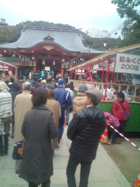 生田神社に初詣