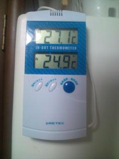 暑いです(^^;;