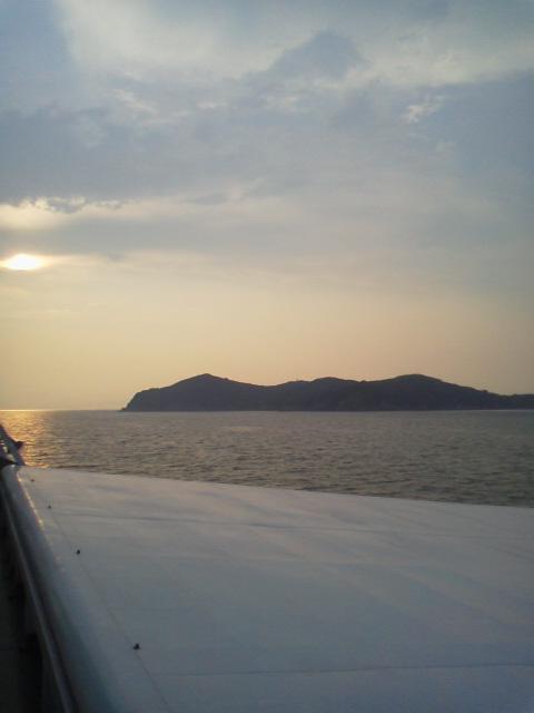 夏休み旅行、最終日