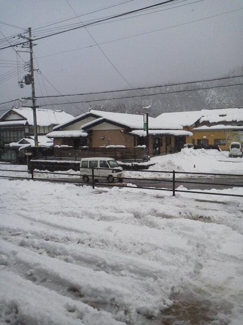 カニ&スキー1日目f(^<br />  ー^