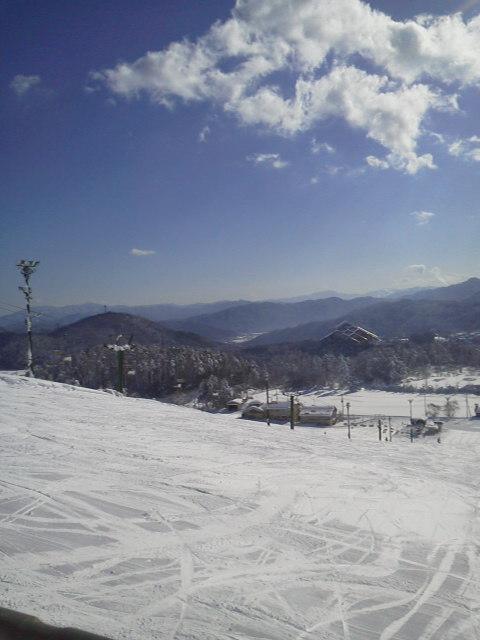 スキー三昧(*^<br />  ¬^*)